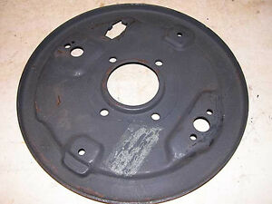 Mg Mgb Roadster Right Rear Brake Backing Plate 4566 646 R h