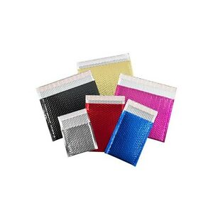 glamour Bubble Mailers 9 x11 1 2 Gold 100 case