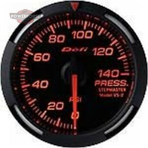 Defi Df06602 2 1 16 Pressure Racer Gauge Red