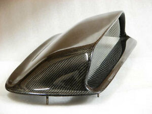 For 02 03 Wrx Gda 4 Tall Sti Carbon Fiber Cf Bolt On Hood Scoop Direct Fit
