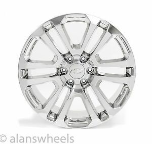 4 New Chevy Suburban Tahoe Chrome 22 Wheels Rims Lug Nuts Ck158 Free Shipping