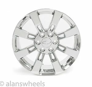 4 New Chevy Silverado Avalanche Chrome 20 Wheels Rims Lugs Free Shipping 5409