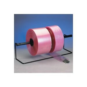 anti static Poly Tubing 4 Mil 3 X 1075 Pink 1 roll