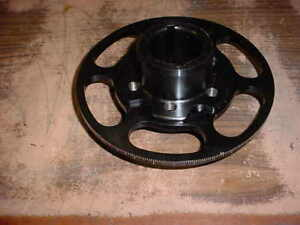 Supercharger Crank Hub Degree Ring For Bbc Big Block Chevy 427 Blower Pulley