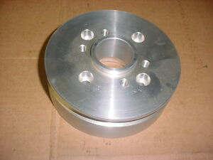 Blower Supercharger Accessory Drive Vee V pulley Hub Ford 289 302 351 Street Rod