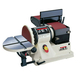 Jet 708595 6 In X 48 In Belt 9 In Disc Combination Bench Top Sander New