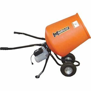 Kushlan Portable Electric Direct Drive Cement Mixer 3 5 Cubic Ft kpro350dd