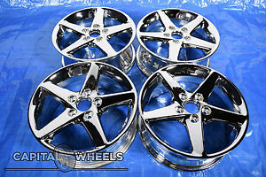 Acura Tl Cl Rsx Honda Accord Pilot Element Civic Chromed Wheels Rims 71721