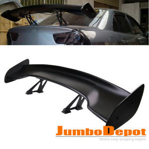 Us Universal Fit 56 Gt Style Black Rear Trunk Spoiler Wing For Nissan 350z