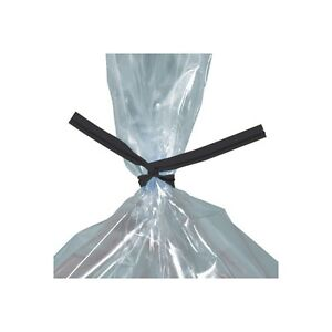 plastic Twist Ties 12 X 5 32 Black 2000 each