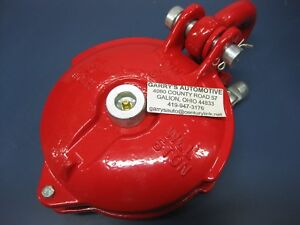 Warn 1063490 6 Inch Snatch Block 33000lb M15000 Cable Winch Pulley Greasable