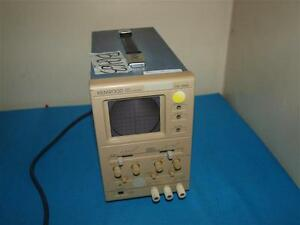 Kenwood Co 1305 5mhz Oscilloscope Beam Return Visible