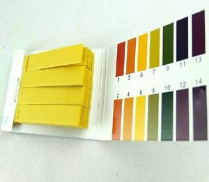 10 Books 8000pcs Litmus Paper Test Strips Alkaline Acid Ph Indicator