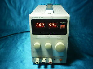 Kenwood Pa18 3a Pa183a Regulated Dc Power Supply 18v 3a