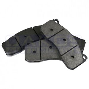 Carbotech Front Brake Pads Xp12 For 1992 2002 Dodge Viper Part Ct592 Xp12