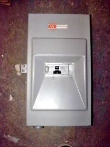 Federal Pioneer S344 70a Circuit Breaker With Enclosure Tested