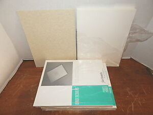 Powis Parker G0108 White Bindercovers Without Windows Two Packages Of 100