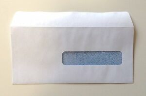 Cms 1500 Hcfa Self seal Window Envelopes For Claim Forms No 10 1 2 500 Ea G38