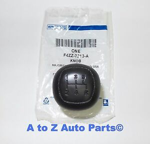 New 1979 2004 Ford Mustang 5 Speed Manual Trans Black Shift Knob Oem