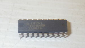 Texas Instruments Tlc1541in Analog To Digital Converters 12 Channel 5 5v Nnb