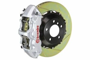 Brembo Gt Brake Kit Front 380mm 2 Pc Slotted 6 Piston Silver S4 S5 B8 2009