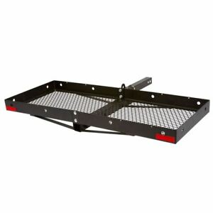 48 Folding Cargo Carrier Hitch Mount Utility Tray Rack