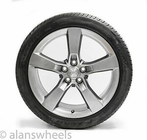 1 2010 2012 Chevy Camaro Factory Oem 20 Front Wheel Tire 5447 1 Excellent Cond