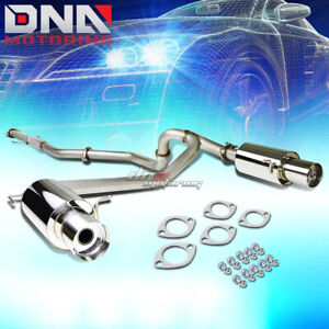 For 02 08 Tiburon Gk 2 0 L4 Dual 4 Tip Stainless Exhaust Catback System