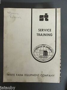 White Farm Equipment Service Training Bundle 2 45 2 62 Field Boss Tractors