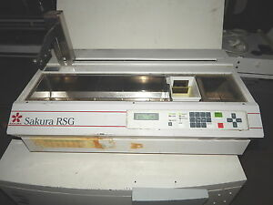Sakura Finetek Rsg 61 Hematology Automated Slide Stainer Tested working