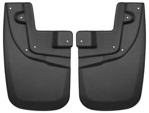 Husky Front Mud Guards Flaps For 05 15 Toyota Tacoma With Oe Fender Flares 56931