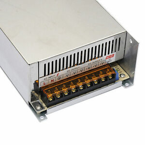Ac 100 240v To Dc 48v 10a 480w Switching Power Supply Driver For Led Strip Cctv
