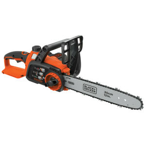Black & Decker 40V MAX Li-Ion 12 in. Chain Saw LCS1240 New