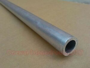 6061 T6 Aluminum Seamless Tubing Tube Lot Od 70mm Id 60mm Length 500mm 20