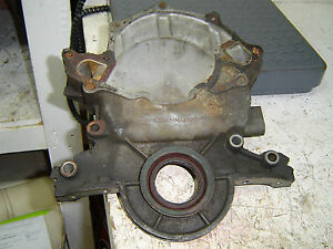 1985 Ford Mustang 5lt 302 Cu Inch Front Timing Cover