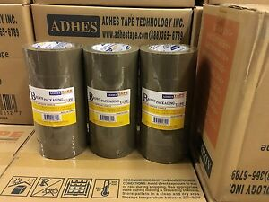 30 Rolls Premium Brown Carton Box Sealing Packing Tape 2 0 Mil Thick 2 x110 Yard