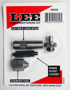 Lee Case Conditioning Kit Case Cutter Lock Stud & Champer Tool Set LEE 90950