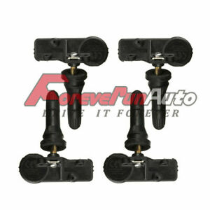 Set Of 4 Tire Pressure Monitoring Sensor Tpms For Ford Lincoln De8t 1a180 aa New