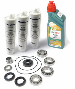 Land Rover Lr2 Rear Differential Repair Kit With Fluid