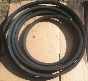 V belt C158 For Gravel Pit conveyor machine combine auger construction 7 8x 162