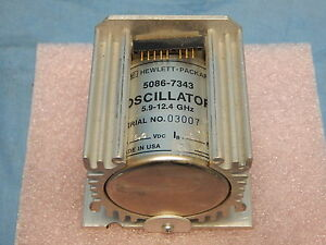 Hp Agilent 5086 7343 5 9 12 4ghz Oscillator Tested