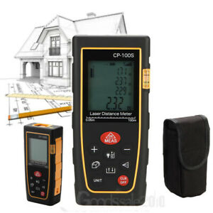 New 100m Handheld Digital Laser Distance Meter Range Finder Measure Diastimeter