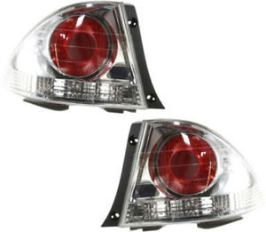 Driver Passenger Side Tail Light Tail Lamp For 2004 2005 Lexus Is300