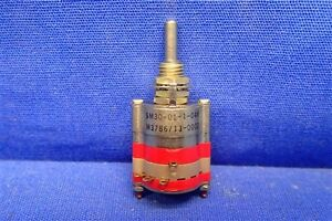 Grayhill M3786 13 0003 Rotary Switch 1d 1p 4pos New Old Stock Nos Unused