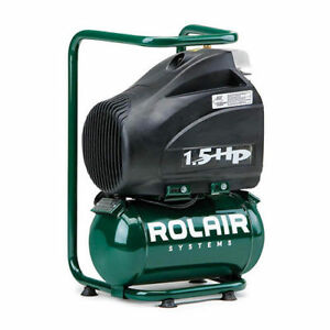 Rolair 1 5 Gallon 1 5 Hp Electric Hand Carry Air Compressor Fc1500hbp2 New