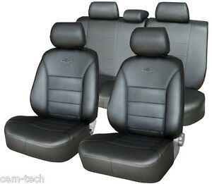 Mazda 3 2003 2009 Seat Covers Perforated Leatherette Eco Leather