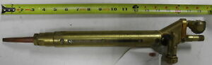 Cutting Torch Handle With Bevel Tip Airco 4700 Usa