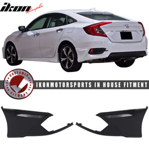 Special Deal Fits 16 18 Civic Sedan Coupe Hf p Modulo Rear Bumper Lip Splitter