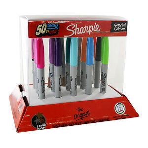 Sharpie Back To School Permanent Markers Fine Point Assorted Colors Pack Of 45
