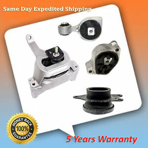 Engine Motor Trans Mount 4pcs For 07 12 Nissan Altima 2 5l Auto Cvt Trans M988